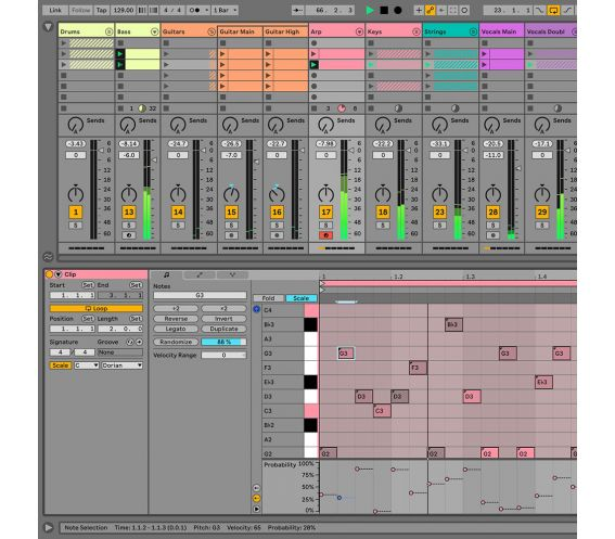 Ableton Live 11 Suite, UPG from Live Lite DAW