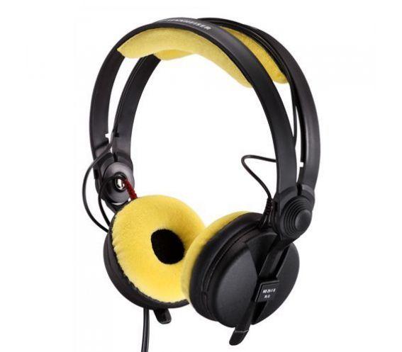 Sennheiser HD 25   Velour Yellow