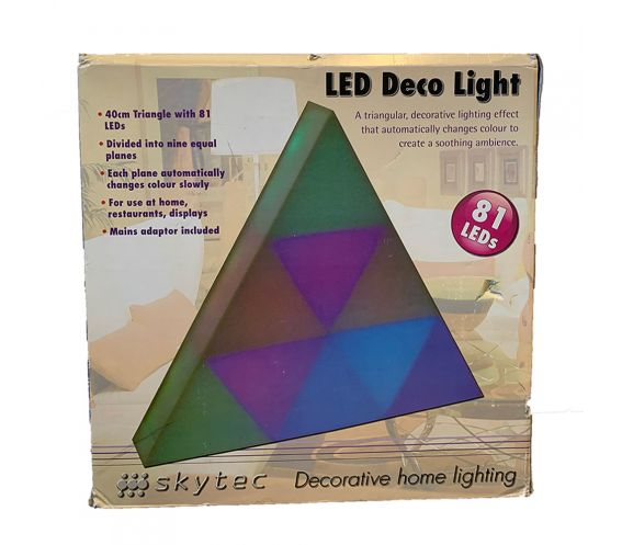 Skytec 81 LED Colour Changing Triangle (B-Stock)
