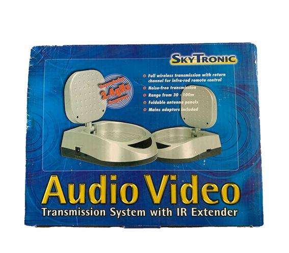 SkyTronic Audio Video 2.4gHz Transmission System with IR Remote
