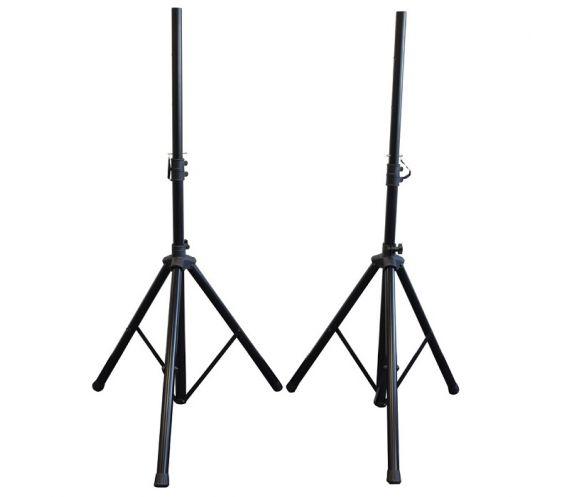 QTX Speaker Stand Kit Front