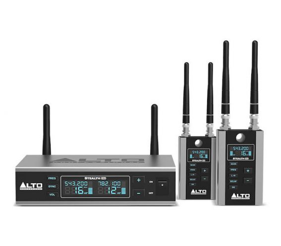 Alto Stealth Wireless Pro Expander Pack Two Additional Receivers for the Stealth Wirless Pro System