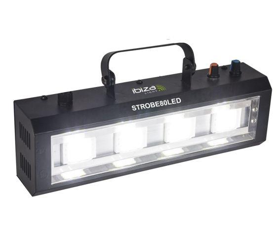 Ibiza Light Strobe80LED Rear angle