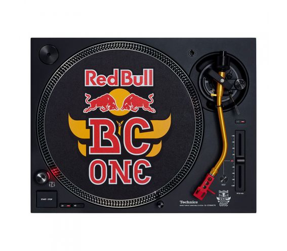 Technics SL-1210MK7R Red Bull BC ONE Limited-Edition Red Bull BC ONE Turntable