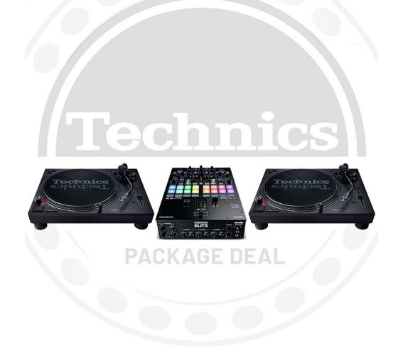 Technics SL-1210 MK7 & Reloop Elite Package Deal