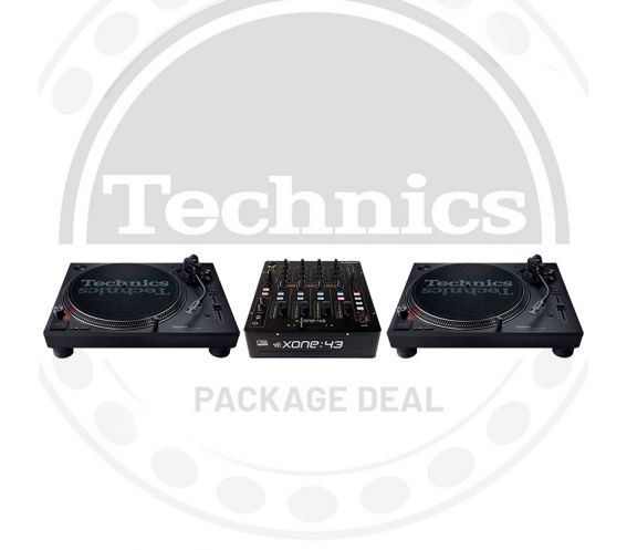 Technics SL-1210 MK7 & Xone 43 Package Deal