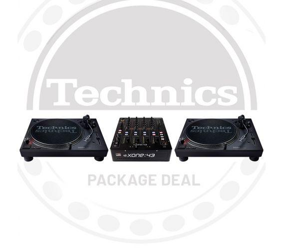 Technics SL-1210 MK7 & Xone 43 Package Deal