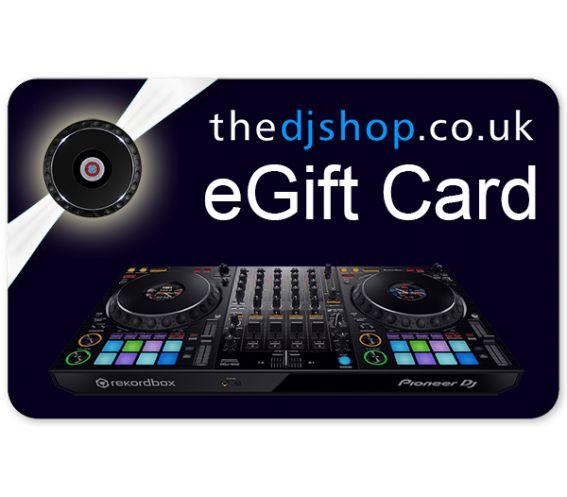 The DJ Shop E-Gift Voucher