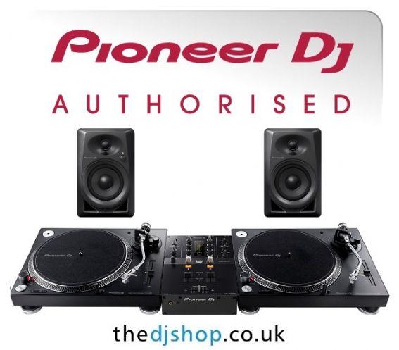 Pioneer PLX-500 Turntable, DM-40 and DJM-250MK2 Package