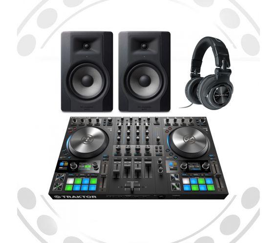 Native Instruments Traktor S4MK3 DJ Equipment Bundle