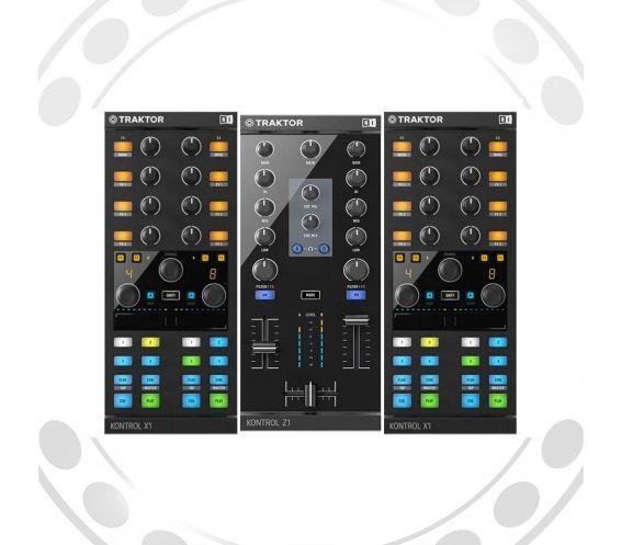 Native Instruments Traktor Kontrol Z1 + 2xTraktor Kontrol X1 MK2 Bundle
