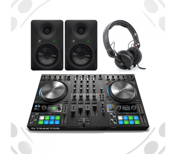 Native Instrument Traktor S4Mk3 DJ Equipment Package Deal