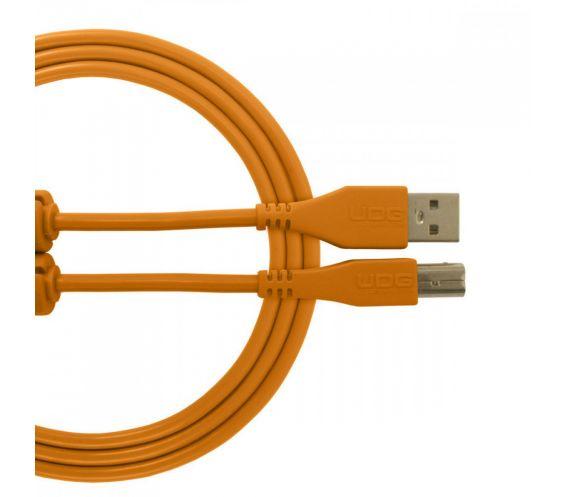 UDG Ultimate Audio Cable USB 2.0 A-B Orange Straight