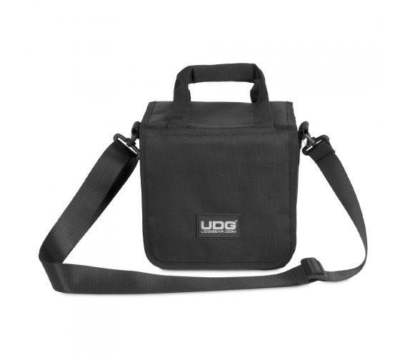 "UDG Ultimate 7"" SlingBag 60 Black Closed Front View"