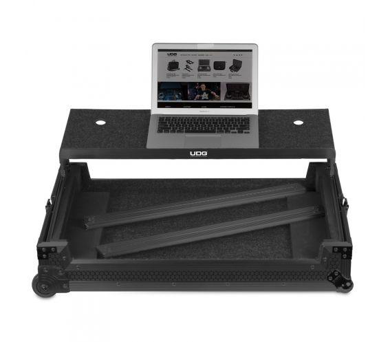 UDG Multi-Format XXL Flight Case Plus Laptop + Trolley + Wheels
