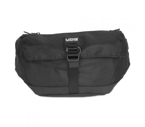 UDG Ultimate Waist Bag Black Closed View 2