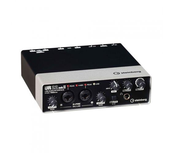 Steinberg UR22 Mk2 USB Audio Interface Main Photo Angled