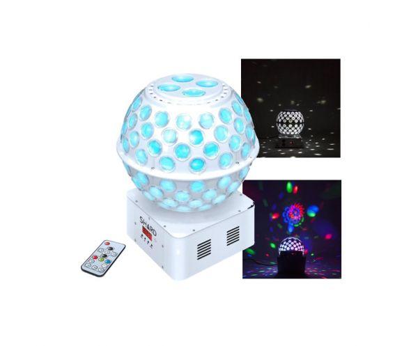 Shard Starball White LED Disco Ball Light Effect