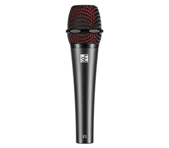 sE Electronics V3 Cardioid Dynamic Microphone Front