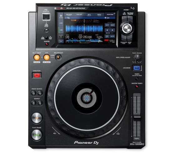 Pioneer XDJ-1000MK2 Multiplayer Top view