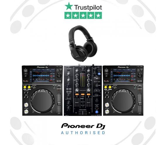 Pioneer XDJ-700 DJ Equipment Package