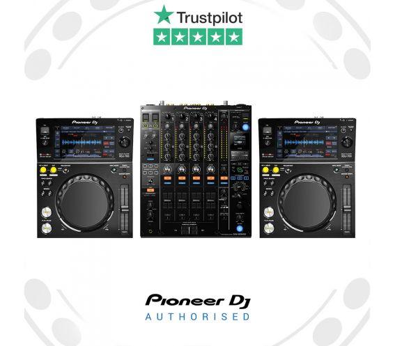 Pioneer XDJ-700 and DJM-900NXS2 DJ Package