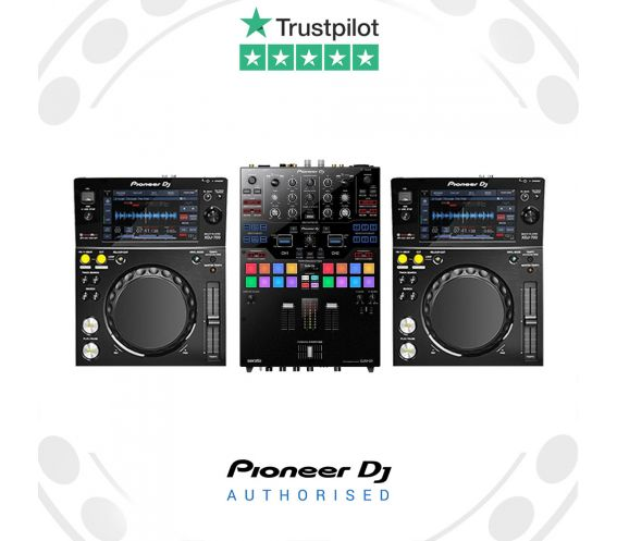Pioneer XDJ-700 and DJM-S9 DJ Package