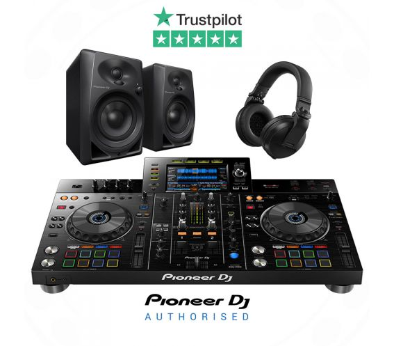 Pioneer XDJ-RX2, DM-40 and HDJ-X5 DJ Equipment Package