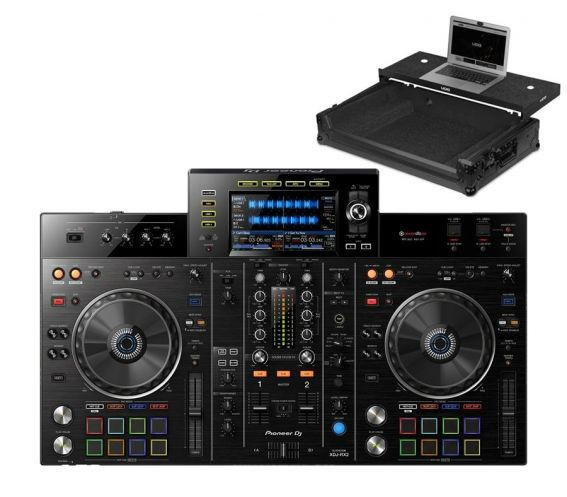 Pioneer XDJ-RX2 UDG Ultimate Flight Case with Laptop Shelf
