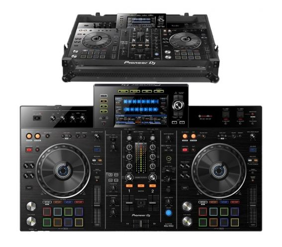 Pioneer XDJ-RX2 + UDG Ultimate Flight Case Plus