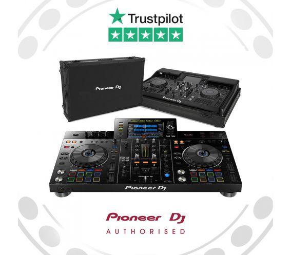 Pioneer XDJ-RX2 DJ Controller and FLT-XDJRX2 Flightcase Equipment Package