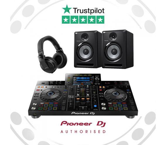 Pioneer XDJ-RX2, S-DJ80X and HDJ-X5 DJ Equipment Package