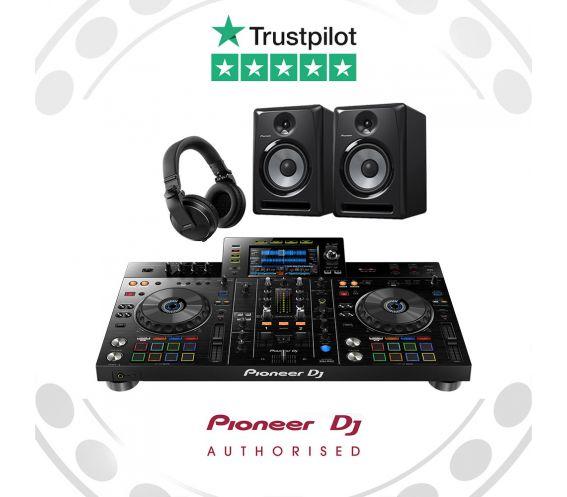 Pioneer XDJ-RX2, S-DJ50X and HDJ-X5 DJ Equipment Package