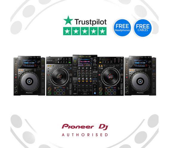 Pioneer XDJ-XZ and CDJ-900 DJ Equipment Package Deal