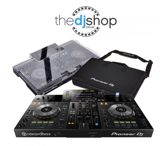 Pioneer XDJ-RR, Decksaver Cover, and Carry Bag w/FREE Headphones Package Deal