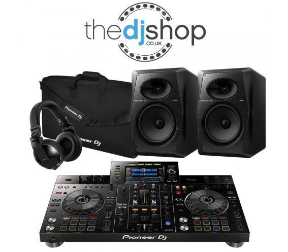 Pioneer XDJ-RX2 DJ Controller, VM-80 Speakers, HDJ-X10 Headphones, DJC-RX2 Carry Bag