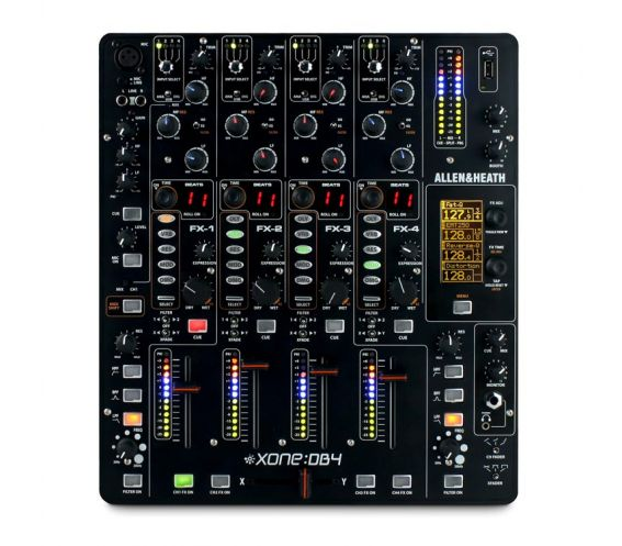 Allen & Heath Xone:DB4 Digital DJ FX Mixer