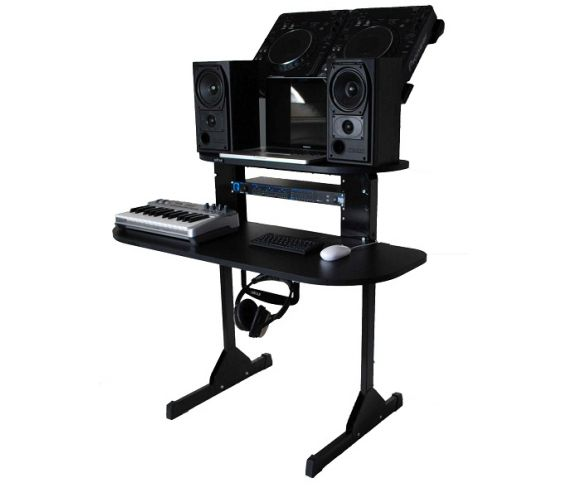 Sefour X15 Studio DJ Desk Black