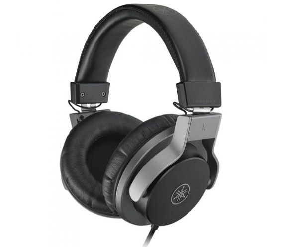 Yamaha HPHMT7 Studio Monitor Headphones Black Edition side