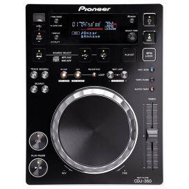Pioneer CDJ-350 Multi Format CD Player (Black)