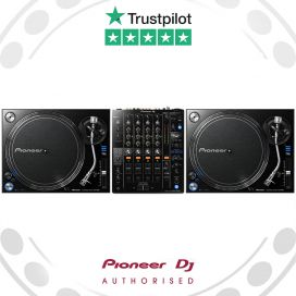 Pioneer PLX-1000 DJ Turntable and DJM-750mk2 Mixer Package Deal