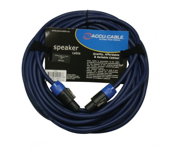 High Quality Speakon Cable 15m