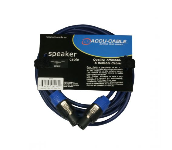 High Quality Speakon Cable 5m