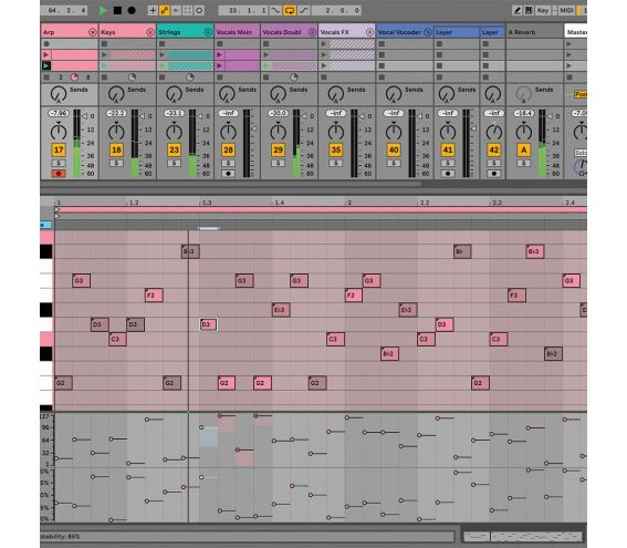Ableton Live 11 Intro Music Production Software (Download Only)