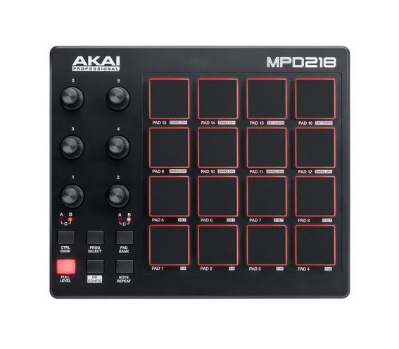 Akai MPD218 Pad Controller Top