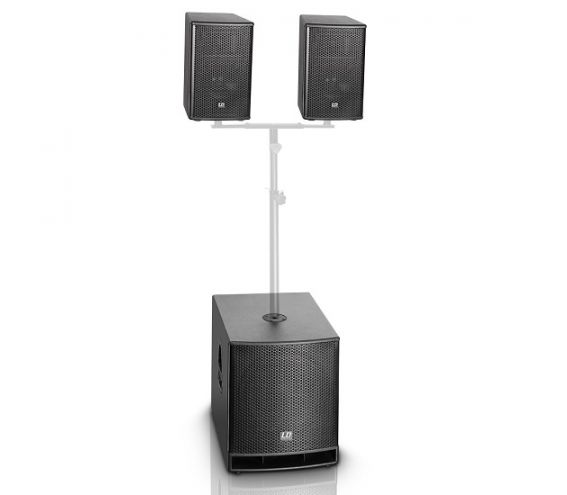 """LD Systems DAVE 10"""" G3 Active PA Speaker System"""