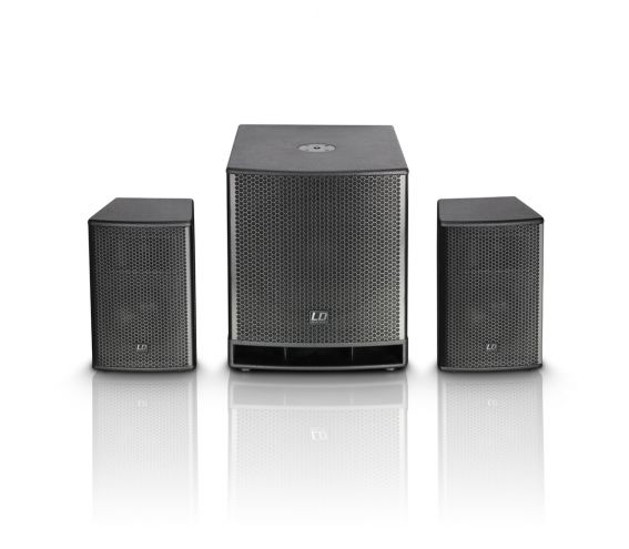 """LD Systems DAVE 15"""" G3  Active PA Speaker System"""