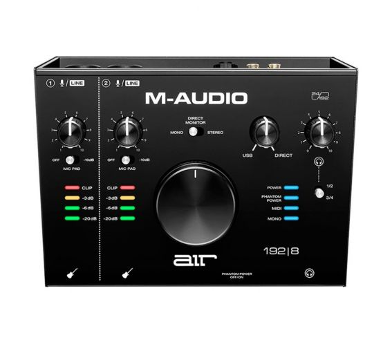 M-Audio 192|8 USB Audio Interface Top