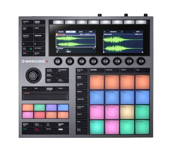 Native Instruments MASCHINE+ Standalone Music Production and Performance System