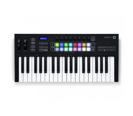 Novation Launchkey 37 MK3 MIDI Keyboard Controller - Top